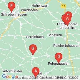 Standorte von 10+ Jobs in Gerolsbach - August 2018