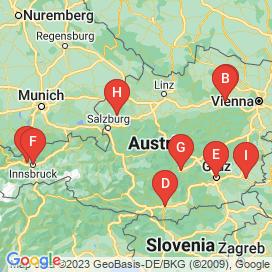 Standorte von 1 Jahr BerufskraftfahrerIn Jobs  - August 2018