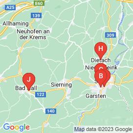 Standorte von Jobs und Stellenangebote in Steyr - April 2018