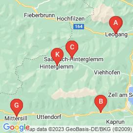 Standorte von Jobs und Stellenangebote in Hinterglemm - April 2018