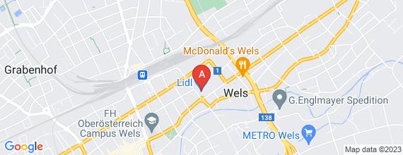 Standort von Frühaufsteher (m/w) (6 Std./Woche), 4600 Wels, Magazinstr. 10