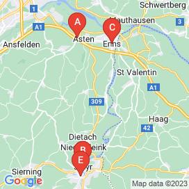 Standorte von Assistent Jobs in Dietach - April 2018