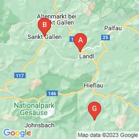 Standorte von Jobs in Landl - Mai 2018