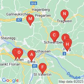 Standorte von Jobs in Gemeinde Naarn Im Machlande - Juni 2018