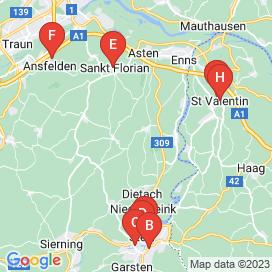 Standorte von Bau Jobs in Wolfern - Juli 2018