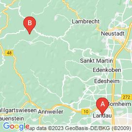 Standorte von Büro / Administration Jobs in Eußerthal - August 2018