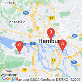 Standorte von Junior Business Development Manager Jobs in Hamburg (Altona)