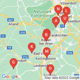 Standorte von 50+ Vollzeit Jobs in Bad Vöslau - August 2018
