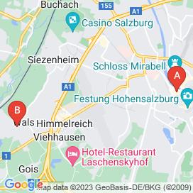 Standorte von Mode Jobs in Salzburg - Juni 2018