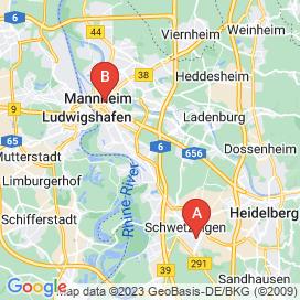 Standorte von Konstrukteur Jobs in Mannheim - August 2018