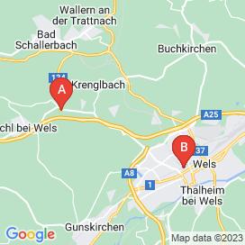 Standorte von Mechaniker Jobs in Wels - August 2018