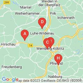 Standorte von Jobs in Wernberg-Köblitz - August 2018