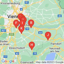 Standorte von Service Jobs in Schwadorf Bei Wien - Juni 2018