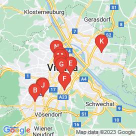 Standorte von Business Jobs in Wien - Mai 2018