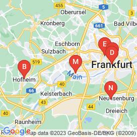 Standorte von Jobs  in Hattersheim Am Main (Hattersheim) - April 2018