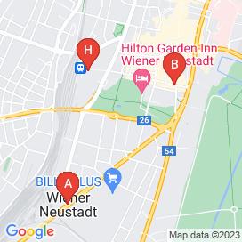 Standorte von 10+ Lehre Jobs in Johannes-Gutenberg-Straße, Wiener Neustadt