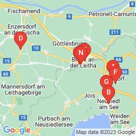 Standorte von Jobs in Gemeinde Bruck an der Leitha - Juni 2018