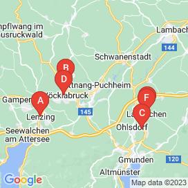 Standorte von CNC Jobs in Vöcklabruck - Juli 2018