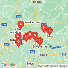 Standorte von Vollzeit Jobs in Enns - Mai 2018