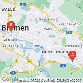 Standorte von Bauschlosser Jobs in Bremen (Bremen) - Juli 2018