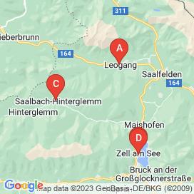 Standorte von Bereitschaft für Abend- und Nachtdienste Jobs in Saalbach - Mai 2018