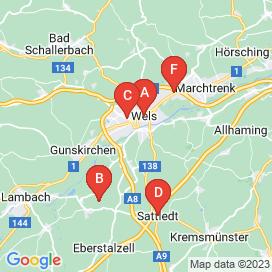 Standorte von Jobs in Wels - Mai 2018