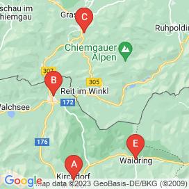 Standorte von Jobs in Kössen - August 2018