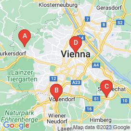 Standorte von Textil Jobs in Wien - August 2018