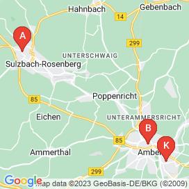 Standorte von Jobs in Amberg - Juni 2018