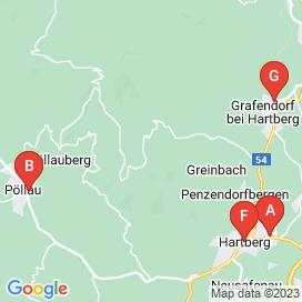 Standorte von Vertriebs Jobs in Hartberg - August 2018