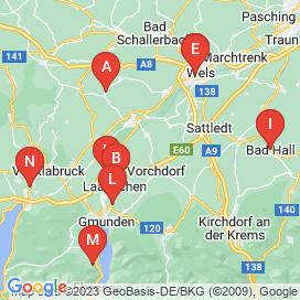 Standorte von Technik & Naturwissenschaft Jobs in Vöcklabruck - Juni 2018