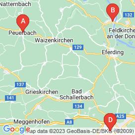Standorte von Lebensmittel Jobs in Mittergallsbach - August 2018