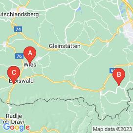 Standorte von Jobs  in Sankt Johann Im Saggautal - April 2018