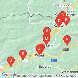 Standorte von Jobs in Kirchbichl - Mai 2018
