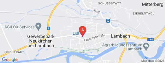 Standort von Samstagskraft (m/w, 6 h/Woche) 4650 Lambach, Salzburger Str. 50
