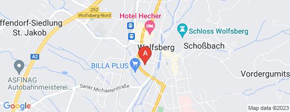 Standort von Backshop-Mitarbeiter/in (24 Std./Woche) 9400 Wolfsberg, Spanheimerstr. 19
