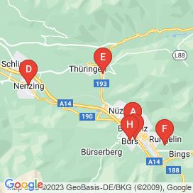Standorte von Jobs in Brand Bei Bludenz - August 2018