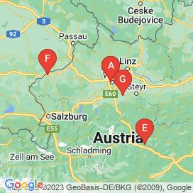 Standorte von Roboter Jobs  - August 2018