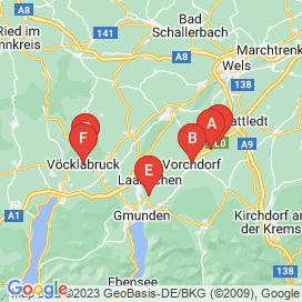 Standorte von Technische Ausbildung Jobs in Laakirchen - August 2018