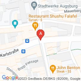 Standorte von Fachinformatiker Jobs in Augsburg - August 2018
