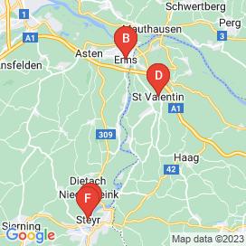 Standorte von Bautechniker Jobs in Ernsthofen - August 2018