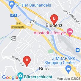 Standorte von Service Jobs in Brand Bei Bludenz - August 2018