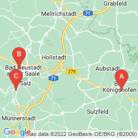 Standorte von Produktion / Fertigung Jobs in Großbardorf - August 2018
