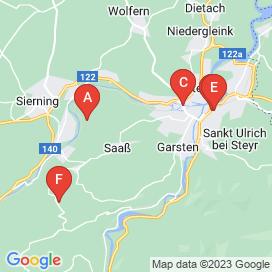 Standorte von Schlosser Jobs in Steyr - August 2018