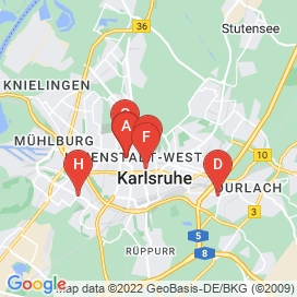 Standorte von Kaufmann Jobs in Karlsruhe - August 2018