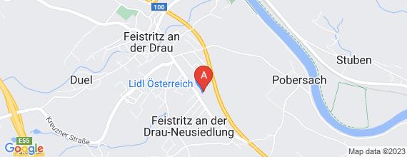Standort von Lehre zum/-r Einzelhandelskaufmann/-frau  9710 Feistritz an der Drau, Villacher Str. 456