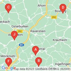 Standorte von Jobs in Ravenstein-Merchingen - Mai 2018