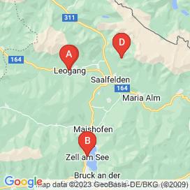 Standorte von Gastronomie Jobs in Saalfelden Am Steinernen Meer - Juni 2018