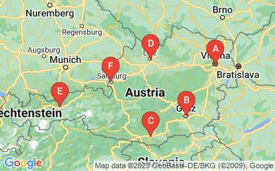 Standorte von Greenpeace in Zentral- und Osteuropa