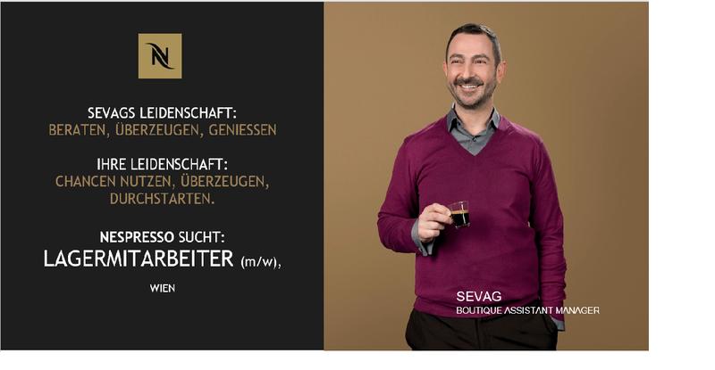 Lagermitarbeiter (in), Vollzeit Wien  Vollzeit »ab € 1.750 brutto/Monat bei NESPRESSO Österreich GmbH & Co OHG - in 30 Sek. bewerben - Job 5284561